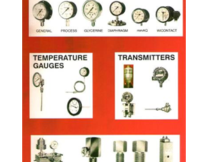Pressure and Temperature Instuments